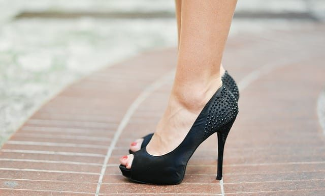 chaussures femme ronde